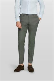 Van Gils business pantalon Tailored Fit 1420VG00107 in het Groen