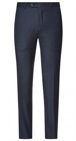 Van Gils business pantalon Tailored Fit w10617 in het Donker Blauw