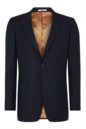 Van Gils colbert Tailored Fit 1320VG00107 in het Donker Blauw