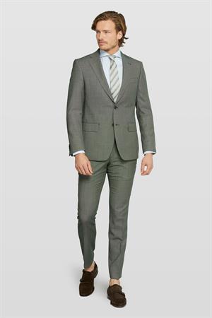 Van Gils colbert Tailored Fit 1320VG00107 in het Groen