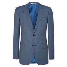 Van Gils colbert Tailored Fit W11758 in het Blauw