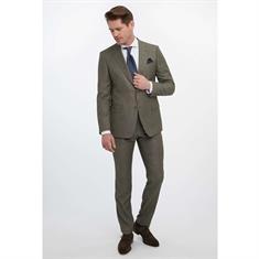 Van Gils colbert Tailored Fit W11758 in het Donker Groen