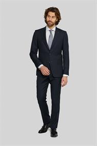 Van Gils colberts Tailored Fit 1320VG00107 in het Donker Blauw