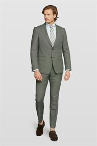 Van Gils colberts Tailored Fit 1320VG00107 in het Groen