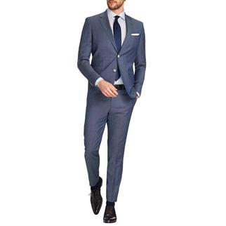 Van Gils kostuum Shape Fit w09171 in het Blauw