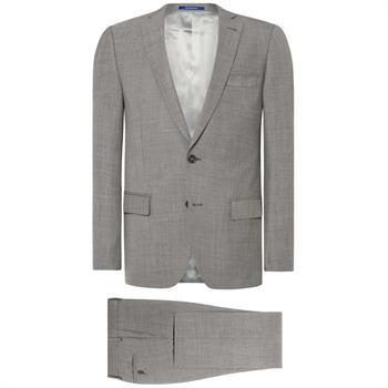 Van Gils kostuum Tailored Fit w10493 in het Donker grijs