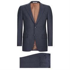 Van Gils kostuum Tailored Fit w10836 in het Blauw