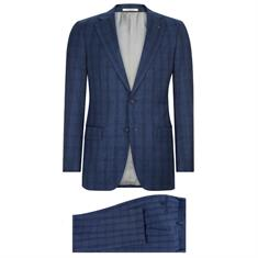Van Gils kostuum Tailored Fit W10839 in het Marine