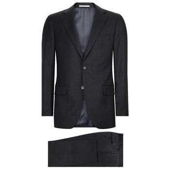 Van Gils kostuum Tailored Fit W10841 in het Antraciet