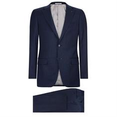 Van Gils kostuum Tailored Fit W10841 in het Marine