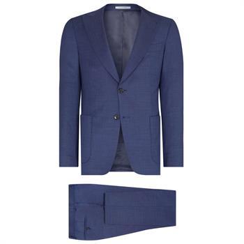 Van Gils kostuum w09688 in het Blauw