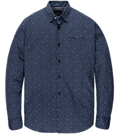 Vanguard casual overhemd Tailored Fit VSI206220 in het Donker Blauw