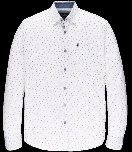 Vanguard casual overhemd Tailored Fit VSI206220 in het Wit