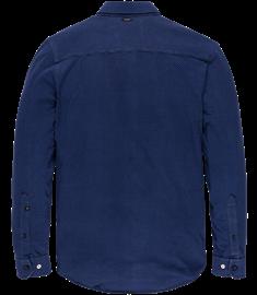 Vanguard casual overhemd VSI206237 in het Kobalt