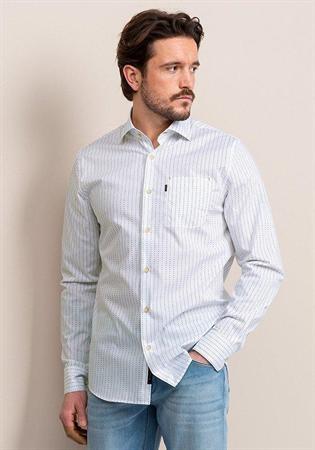 Vanguard casual overhemd VSI212217 in het Wit