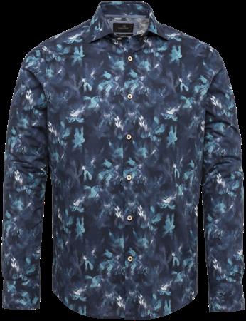 Vanguard casual overhemd VSI212221 in het Marine