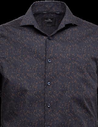 Vanguard casual overhemd VSI216216 in het Donker Blauw