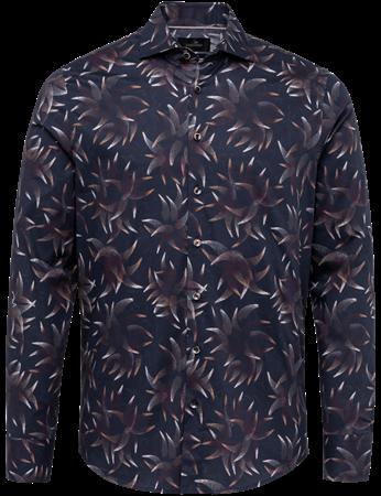 Vanguard casual overhemd VSI217238 in het Donker Blauw