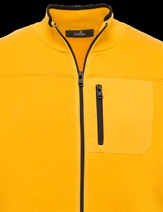 Vanguard gebreid vest Tailored Fit VKC212364 in het Geel