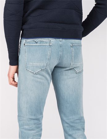 Vanguard jeans V850 VTR850 in het Hemels Blauw