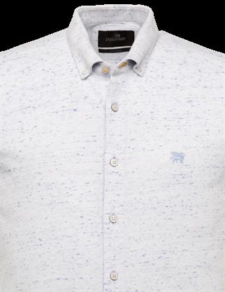 Vanguard jersey overhemd Tailored Fit VSIS212226 in het Licht Blauw