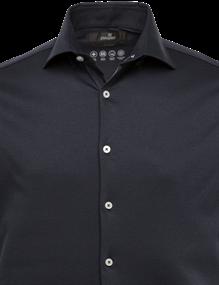 Vanguard jersey overhemd Tailored Fit VSIS212231 in het Marine