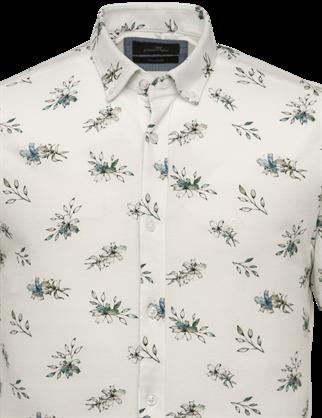 Vanguard jersey overhemd Tailored Fit VSIS213251 in het Wit