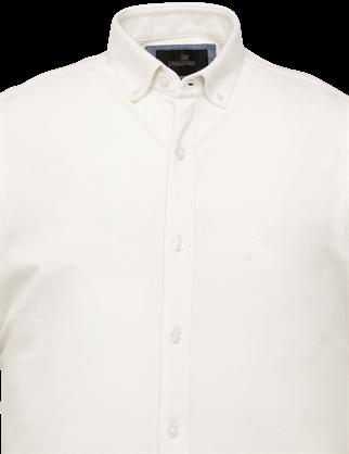 Vanguard jersey overhemd Tailored Fit VSIS213256 in het Wit