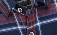 Vanguard overhemd Tailored Fit VSI206234 in het Donker Blauw