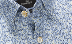 Vanguard overhemd VSI205202 in het Licht Blauw