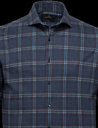 Vanguard overhemd VSI216224 in het Donker Blauw