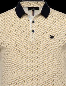 Vanguard polo's Tailored Fit VPSS212858 in het Geel