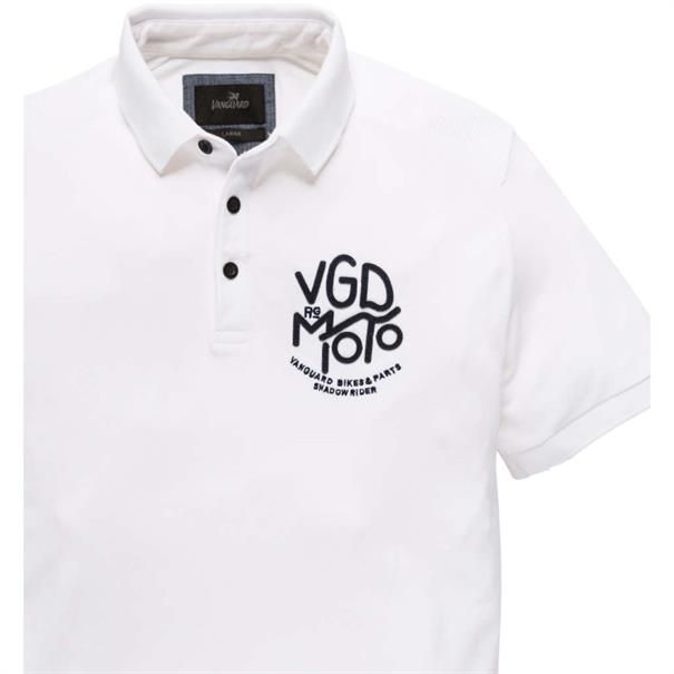 Vanguard polo's vpss192629 in het Wit