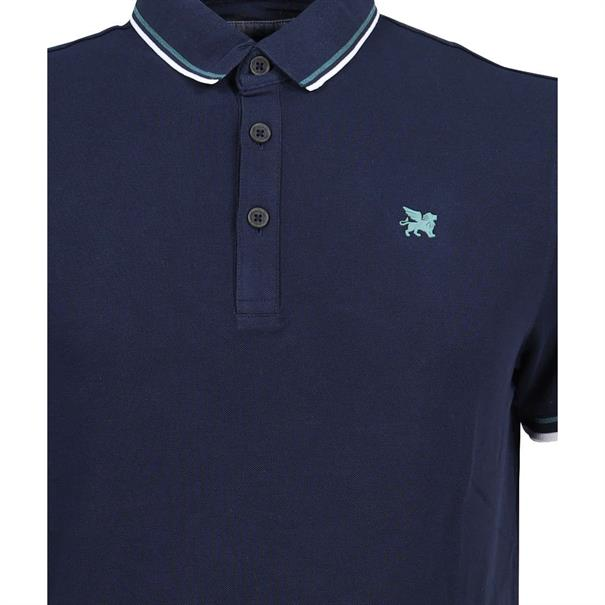 Vanguard polo's vpss194692 in het Marine
