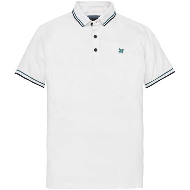 Vanguard polo's vpss194692 in het Wit