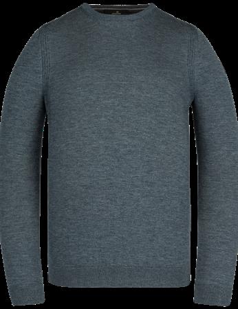 Vanguard ronde hals trui Tailored Fit VKW211303 in het Donker Blauw