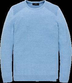 Vanguard ronde hals trui VKW208351 in het Blauw