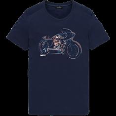 Vanguard t-shirts VTSS203540 in het Blauw