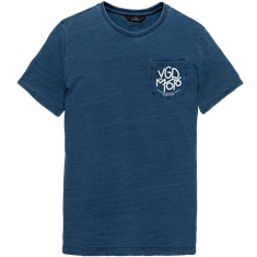 Vanguard t-shirts VTSS203546 in het Indigo