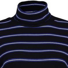 Via Appia t-shirts 759291 in het Zwart / Blauw