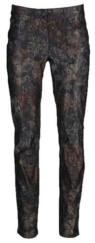 Zerres broeken Sarah 9763-726-sarah in het Zwart / Bruin