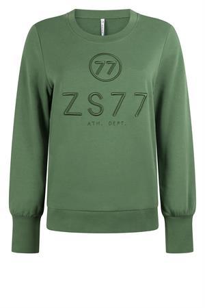 Zoso sweater 215percey in het Groen