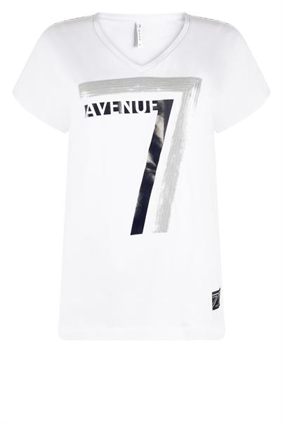 Zoso t-shirts 213britt in het Wit