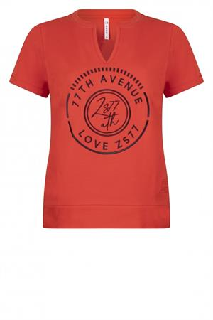 Zoso t-shirts 213emmy in het Rood