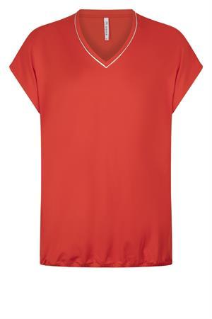 Zoso t-shirts 213nancy in het Rood