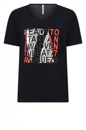 Zoso t-shirts 213ready in het Blauw