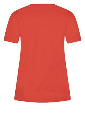 Zoso t-shirts 213sixth in het Rood