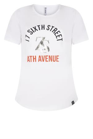Zoso t-shirts 213sixth in het Wit