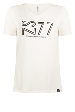 Zoso t-shirts 215jane in het Wit/Groen